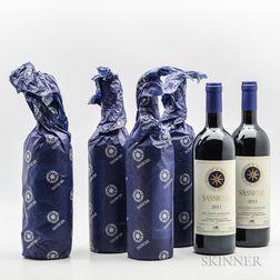 Tenuta San Guido Sassicaia 2011, 6 bottles