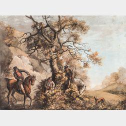 After Rev. William Barker Daniel (British, 19th Century)      Flushing the Quarry