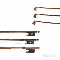 Three Violin Bows