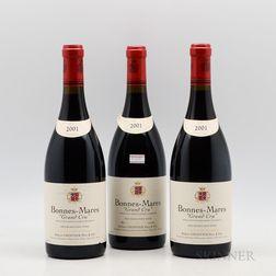Robert Groffier Bonnes Mares 2001, 3 bottles