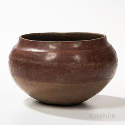 Large Southwest Pottery Bowl
