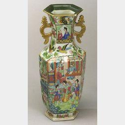 Rose Mandarin Vase