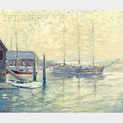 Franklin Edward Morris (American, b. 1938)      Mystic Seaport