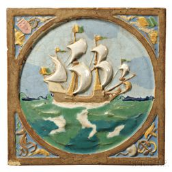 Arts and Crafts Period Architectural Tile