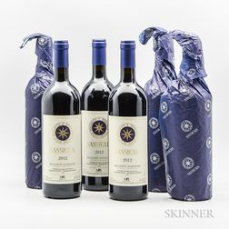 Tenuta San Guido Sassicaia 2012, 6 bottles