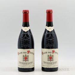 Clos des Papes (Paul Avril) Chateauneuf du Pape 2001, 2 bottles