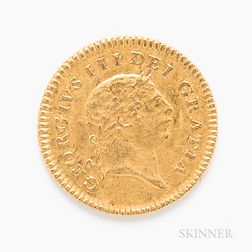 1804 British George III Third Guinea
