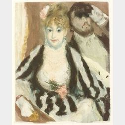 Jacques Villon (French, 1875-1963), After Pierre Auguste Renoir (French, 1841-1919)  La Loge