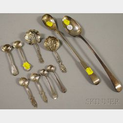 Ten Assorted Sterling Silver Spoons