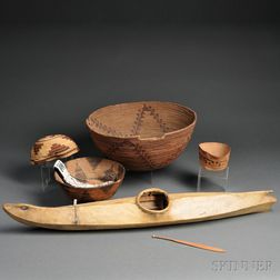 Miscellaneous Group of Ethnographic Items