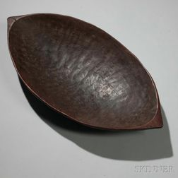 Fiji Islands Carved Wood Bowl
