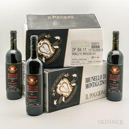 Il Poggione Brunello di Montalcino 2011, 12 bottles (2 x oc)