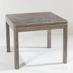 Karl Springer Silver Python Table