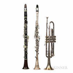 Three Wind Instruments