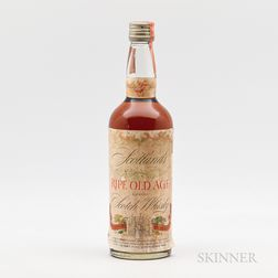 Scotlands Ripe Old Age 27 Years Old, 1 4/5 quart bottle