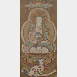 Painting Depicting Avalokitesvara