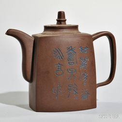 Yixing Covered Teapot