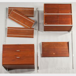 George Nelson for Herman Miller CSS Modular Wall Unit