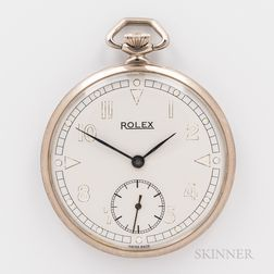 Rolex Open-face Watch