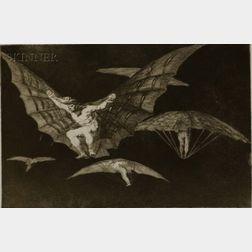 Jose Francisco de Goya y Lucientes (Spanish, 1746-1828)    LOS PROVERBIOS