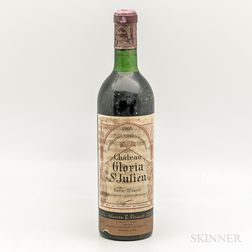Chateau Gloria 1966, 1 bottle
