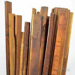 Twenty-one Pernambuco Sticks