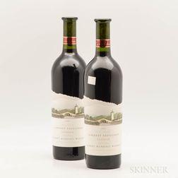 Robert Mondavi Cabernet Sauvignon Reserve, 2 bottles