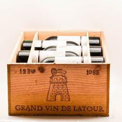 Chateau Latour 1983, 12 bottles (owc)
