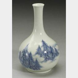 Porcelain Wine Bottle