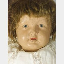 K * R Rubber Head Character Child Doll