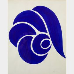 Jack Youngerman (American, b. 1926)   Snail