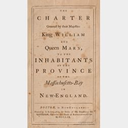 (Massachusetts, Colonial), Association Copy