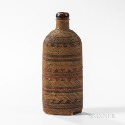 Northwest Coast Woven Bottle