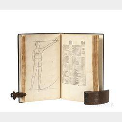 Dürer, Albrecht (1471-1527) Alberti Dureri Clarissimi Pictoris et Geometra de Sym[m]etria Partium in Rectis Formis Hu[m]anorum Corporum