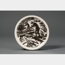 Twelve Wedgwood Claire Leighton Design Plates