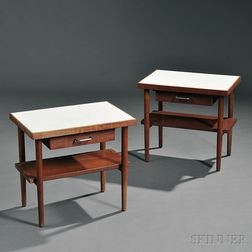 Pair of Ben Thompson Side Tables