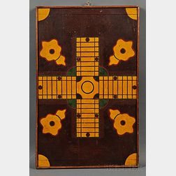 Paint-decorated and Inlaid Game Board
