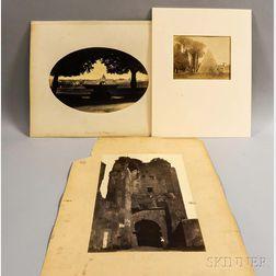 Robert MacPherson (Scottish, c. 1811-1872)      Four Views of Rome