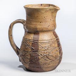 Maurice K. Grossman (1927-2010) Pottery Pitcher