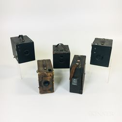 Kodak Premo No. 9 and Four Other Cameras