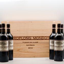 Chateau Troplong Mondot 2012, 12 bottles (2 x owc)