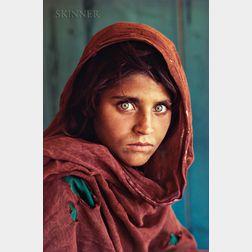 Steve McCurry (American, b. 1950)      Afghan Girl (Sharbat Gula), Refugee Camp, Pakistan