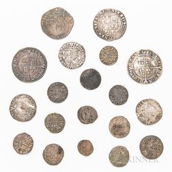 Group of Hammered British Coins