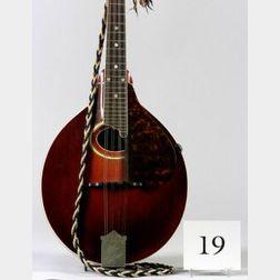 American Mandolin, The Gibson Mandolin-Guitar Company, Kalamazoo, Model A-4, 1917