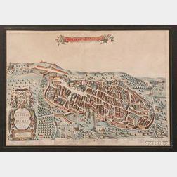 (European City Views, Italy), Blaeu, Johannes & Mortier, Pierre