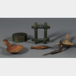 Seven Assorted Wooden Items