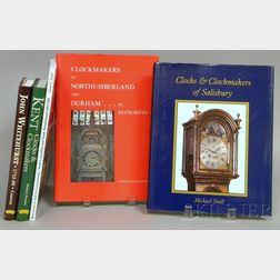 Five Titles on English Regional Clockmakers