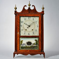 Eli Terry & Sons Pillar and Scroll Shelf Clock