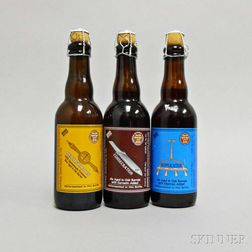 Mixed Russian River Brewing Company, 3 375ml bottles