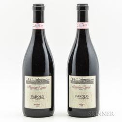 Soprano Barolo Bussia Riserva Pianpolveri Soprano 1999, 2 bottles